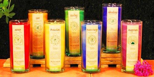 чакральные свечи